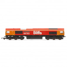 HORNBY GBRF, CLASS 66, CO-CO, 66783 'THE FLYING DUSTMAN' - ERA 11