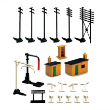 HORNBY TRACKSIDE ACCESSORY PK