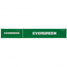 HORNBY EVERGREEN, CONTAINER PACK, 1 X 20' AND 1 X 40' CONTAINERS - ERA 11