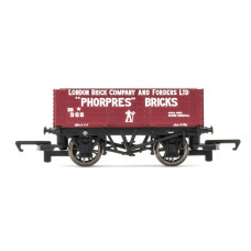HORNBY 6 PLANK WAGON 'LONDON BRICK COMPANY'