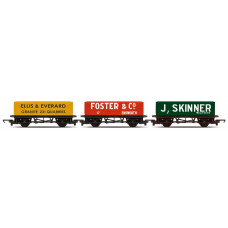 HORNBY 3 PACK - OPEN WAGONS