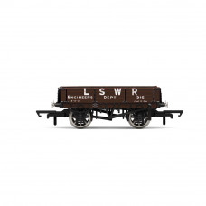 HORNBY LSWR, 3 PLANK WAGON, LSWR ENGINEERS 316 - ERA 2