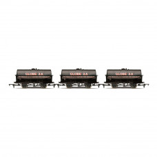HORNBY CORN PRODUCTS, 20T TANK WAGONS, THREE PACK - ERA 3/4