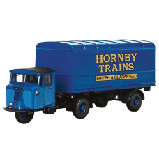 HORNBY SCAMMELL MECHANICAL HORSE VAN TRAILER, CENTENARY YEAR LIMITED EDITION - 1957