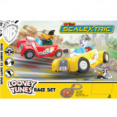 MICRO SCALEXTRIC MY FIRST SCALEXTRIC LOONEY TUNES (MAINS POWERED) - NEW TOOLING 2019