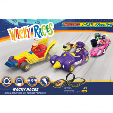 MICRO SCALEXTRIC WACKY RACES (MAINS POWERED) - NEW TOOLING 2019