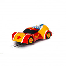 MICRO SCALEXTRIC JUSTICE LEAGUE WONDER WOMAN CAR