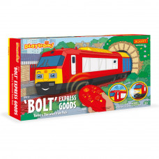 HORNBY BOLT EXPRESS GOODS BATTERY OPERATED TRAIN PACK