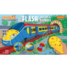 HORNBY FLASH THE LOCAL EXPRESS REMOTE CONTROLLED BATTERY TRAIN SET