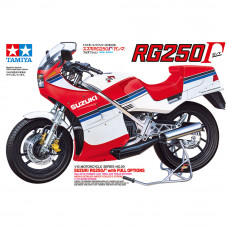 TAMIYA SUZUKI RG250 F FULL OPTIONS 1:24