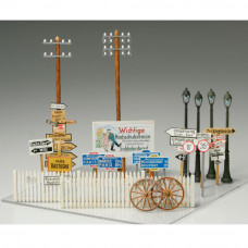 TAMIYA ROAD SIGN SET