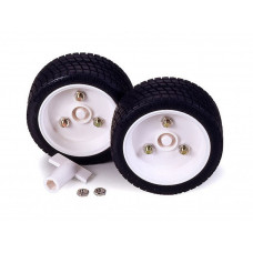 TAMIYA SPORTS TIRE SET (56MM DIA.)