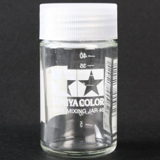 TAMIYA PAINT MIXING JAR 46 W/MEASURE