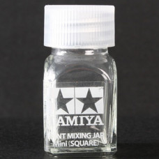 TAMIYA PAINT MIXING JAR MINI(SQUARE)