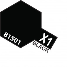 TAMIYA ACRYLIC MINI X-1 BLACK