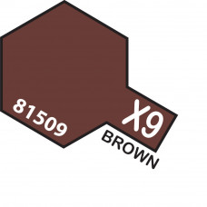 TAMIYA ACRYLIC MINI X-9 BROWN