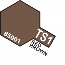 TAMIYA TS-1 RED BROWN