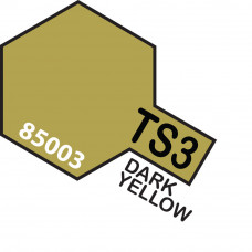 TAMIYA TS-3 DARK YELLOW