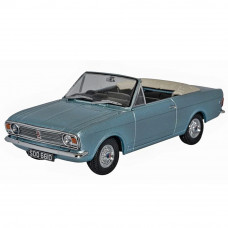 OXFORD FORD CORTINA MKII CRAYFORD CONVERTIBLE BLUE MINK ROOF