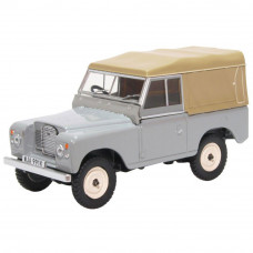 OXFORD LAND ROVER SERIES III SWB CANVAS MID GREY