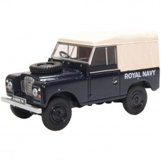OXFORD LAND ROVER SERIES III SWB CANVAS ROYAL NAVY
