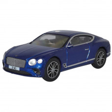 OXFORD BENTLEY CONTINENTAL GT PEACOCK BLUE