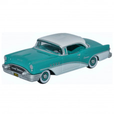 OXFORD BUICK CENTURY 1955 TURQUOISE AND POLO WHITE
