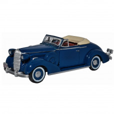 OXFORD MUSKETEER BLUE BUICK SPECIAL CONVERTIBLE 1936
