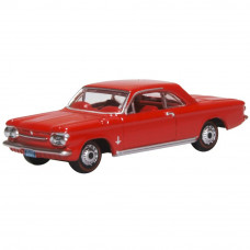 OXFORD CHEVROLET CORVAIR COUPE 1963 RIVERSIDE RED