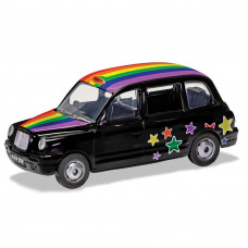 CORGI EXPRESS YOURSELF TAXI - RAINBOW
