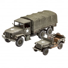REVELL M34 TACTICAL & OFF ROAD VEHICLE 1:35