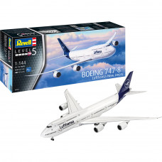"REVELL BOEING 747-8 LUFTHANSA ""NEW LIVERY"" 1:144"