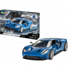 REVELL 2017 FORD GT (EASY CLICK) 1:24