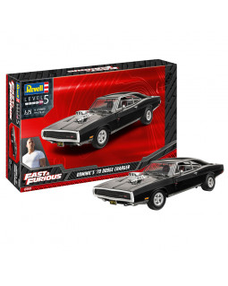 REVELL FAST & FURIOUS - DOMINIC'S 1970 DODGE CHARGER 1:25