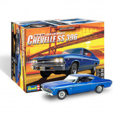 REVELL '69 CHEVELL SS 396 1:25