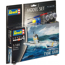 REVELL MODEL SET GERMAN SUBMARINE 1:144