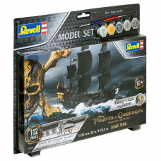 REVELL PIRATE SHIP BLACK PEARL 1:150