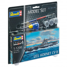 REVELL MODEL SET USS HORNET 1:1200